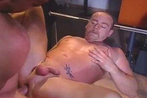 Janos Volt Having A Masturbating Dream With Two chaps driling