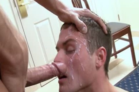 Manalive facials and cum shornys