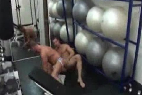 Ross Hurston And his Gym friend