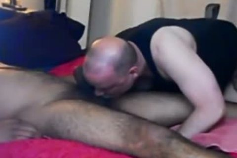 Sensuous oral For str8 Desi man.