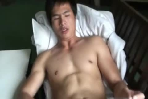 Thai twink Showering And wanking 2