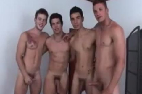 Hunks orgy Coition With oral sexs & a-hole Fingering