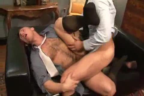 drilling His pooper Back At The Office