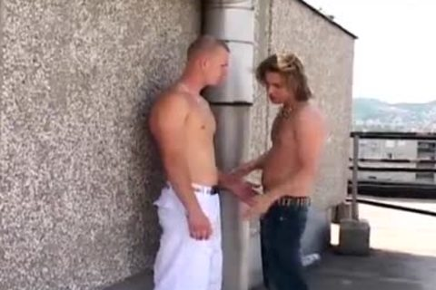 Curtis And Ferris get anal driled In Public