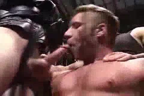 naughty Muscle 3some