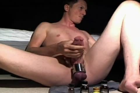 Playin At Home With Ballweight On - Usin Some Of My much loved Dildos And Sniffin Poppers