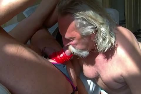 I Tease large Dave's knob Balls And booty Befor We Start To Film