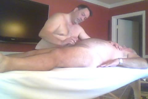 gigantic Bear Asked For A Massage And A Prostate Massage.
