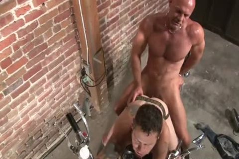 Damon Dogg And The cum gap Cruisers - Scene 3 - Factory movie scene