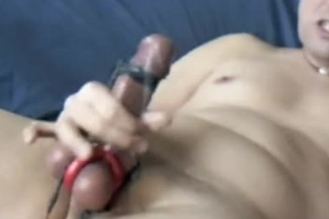 A good Masturbating Edging Session By Electro Stimulation, Sounding And Sniffing Poppers.