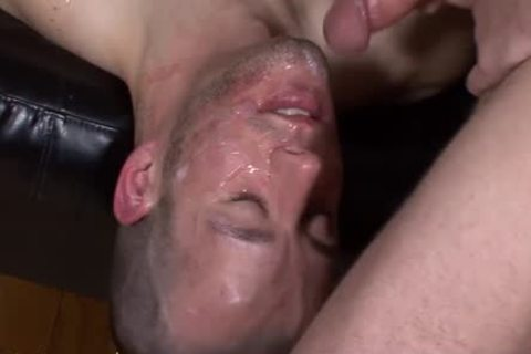 attractive Bukkake twink Sure likes To suck knobs
