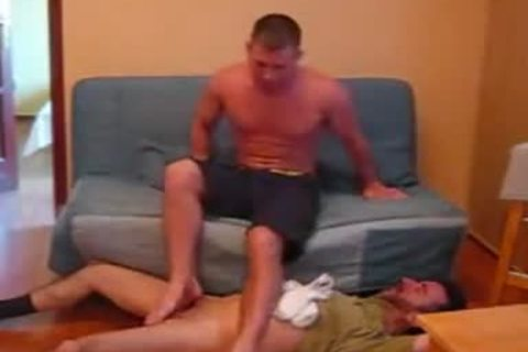 Foot domination gay How to
