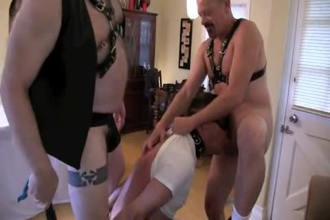This ravishing Masochist Wanted To Celebrate His Birthday With Me And Deeperdoug, And We Were more Than cheerful To Oblige.  The First Two Parts Are yummy Much All bdsm, The Third Is A Mix Or SM And Sex And The Fourth Is All About Sex!