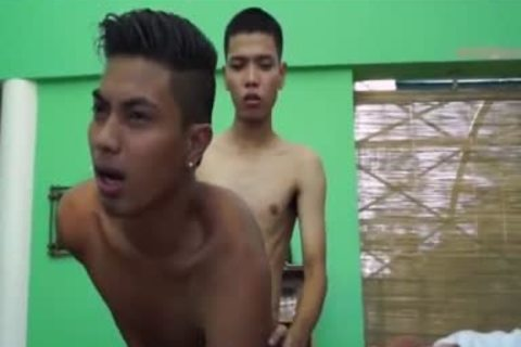 Pinoy giant 10-Pounder Arjo And Josh,, have a fun Pinoy M2M bang, suck, And wazoo rimming  greater amount cum To Go