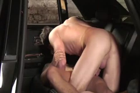pounding In The Boss's Car