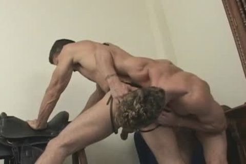 gay brunette man gets pounded In The butthole Hard