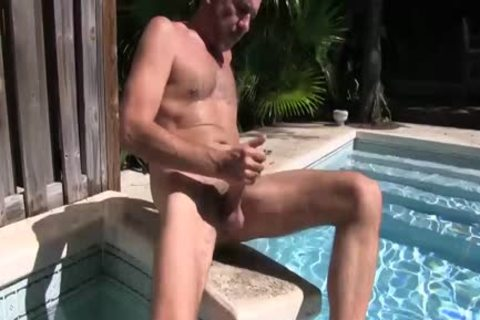 hairy Victor Jacks Off
