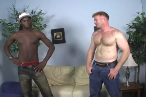 Dakota Has Some Manly joy With A dark boy