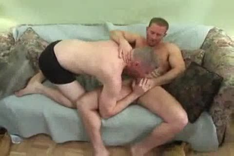 Tattooed Straight lad receives suck job And bonks A beefy fellow