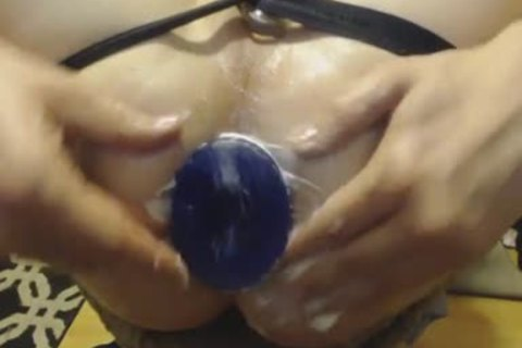 "Here Is A kinky And pleasure Play Session I Had With The TSX: bed penis Buddy - Medium Plug. The dildo Measurements Are 5.5"" Tall (4.5"" Insertable) And 3.1 Inches In Diameter (9.75"" Circumference). it's A enormous PVC Plug That Stretch"