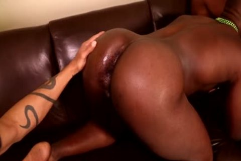 Next Door ebony Saint-Patrick's 3some