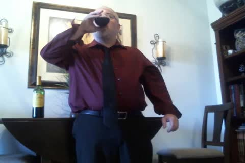 older Suit strip (with Red Wine!)