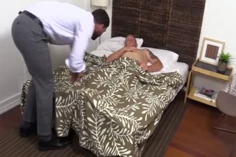 naughty And lascivious Ricky Larkin Worships Conrad Feet while In sofa
