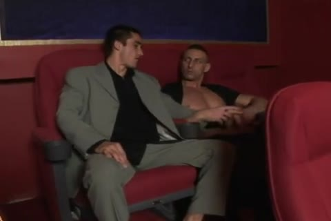 filthy males pounding In The Cinema