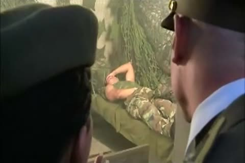 brunette beauty In Al anal trio With 2 filthy Soldiers