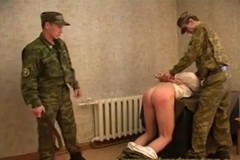 Russian Army thrashing And drilling