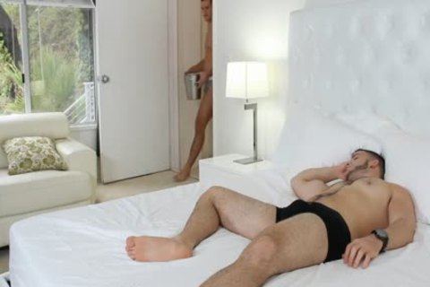 GayRoom - Joey Cooper Wakes Up Boyfriend girl Rock For lovely plow