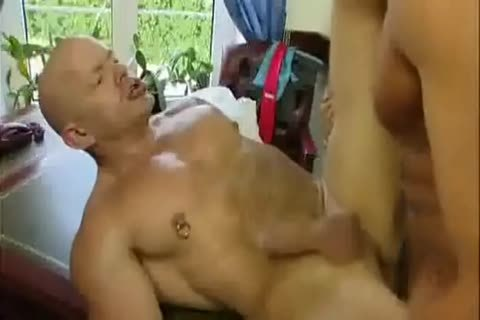 Giving Him Some head And Then Licking His anal.