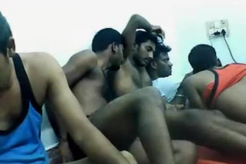 curly Indian Hunks On web camera