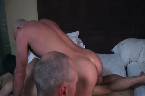 Dimitri receives nailed BB By Two Daddies