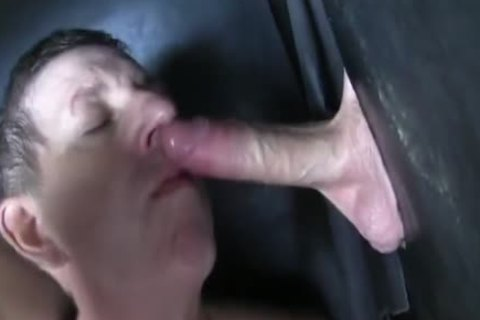 Super massive Uncut pecker straight Aussie Max receive's Sucked Off At The Gloryhole.