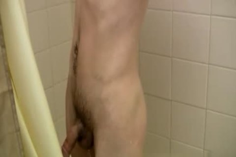 Brother homo Sex Tgp First Time one time The Shower Is Over, he