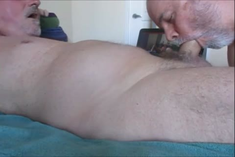Farmer K's Christmas pecker sperm.  OralistDan video 218