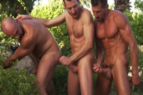 A Threeway gangbang On A good Day