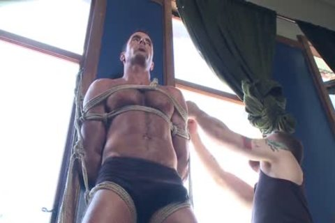 big cock Muscled God Edged