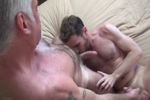 Silver Daddy Takes good Care Of Son