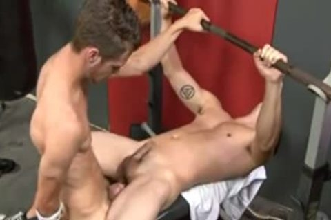 Some Fit ravishing Hunky cocks Savor Some knob Slurping cock arse bang Making Love In Gym