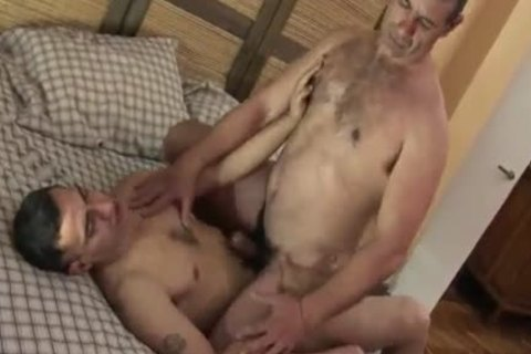 O4M - young Daddy Cums For An Interview