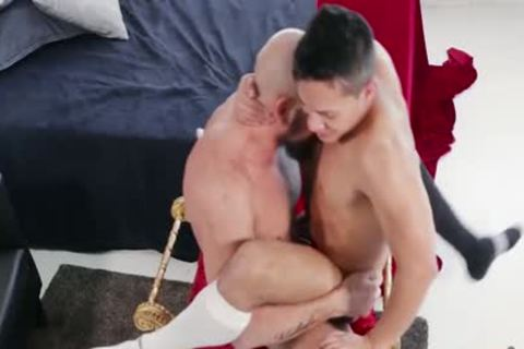 Tattoo homosexual butthole pound And cumshot