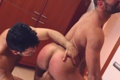 Muscle homo spanking And Facial