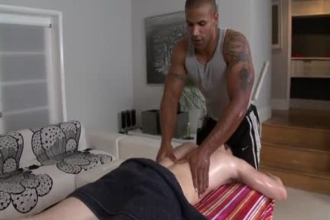 monstrous knob gay oral-stimulation With Massage