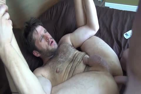 Cub Takes It bare On The bed