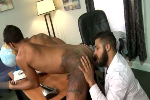Latin gay oral stimulation And Facial
