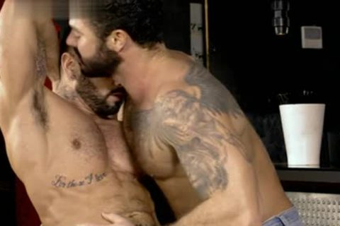 Muscle homosexual irrumation sex With spunk flow
