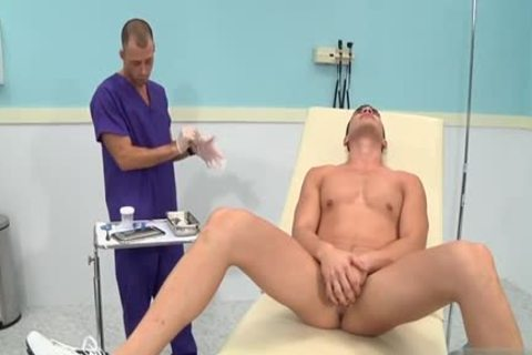 monstrous dick Doctor trio With cumshot