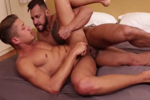 Latin gay anal sex And semen flow